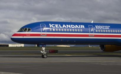Icelandair flies flag to celebrate 100 years of sovereignty