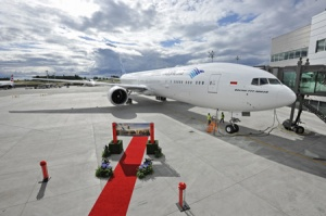 Garuda Indonesia receives first Boeing 777-300ER