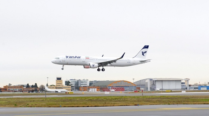 Iran Air takes delivery of first Airbus aircraft following historic deal