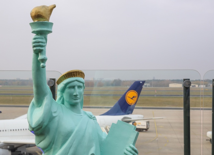 Lufthansa links Berlin to United States for first time in more than a decade