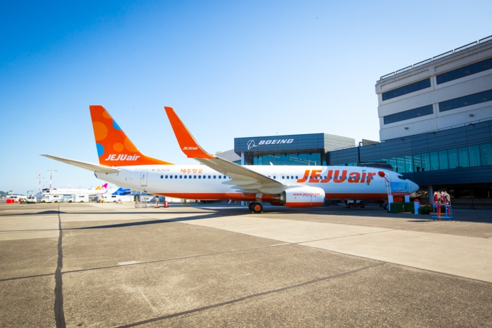 Jeju Air receives first Boeing Next-Generation 737-800 from Boeing