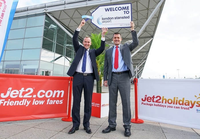 Jet2.com expands summer 2017 leisure operations at Stansted