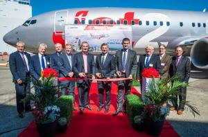 Jet2.com welcomes first Boeing 737-800 to fleet
