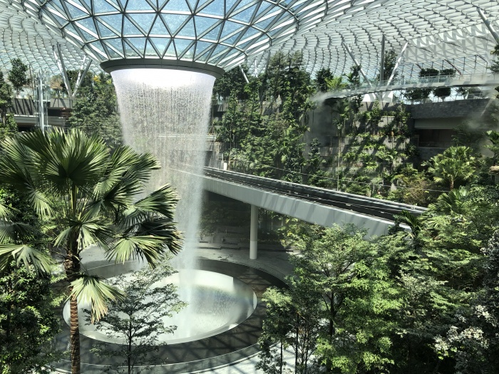 Changi Airport to open £1bn Jewel facility in April