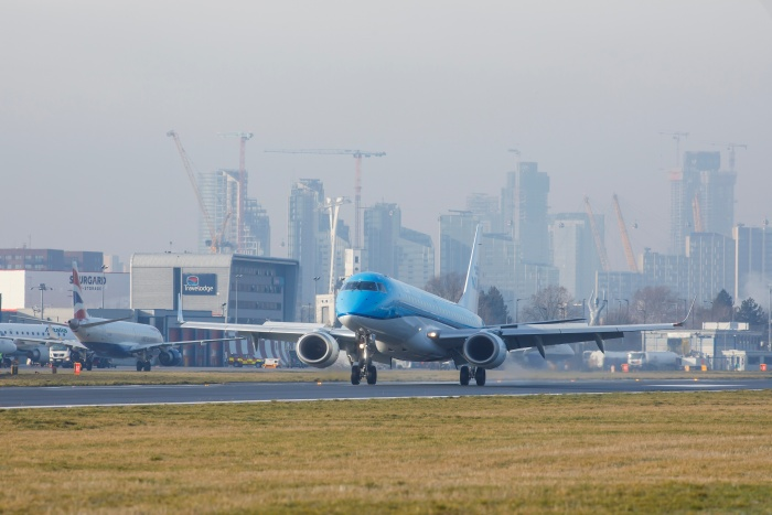 KLM to return to London City in July