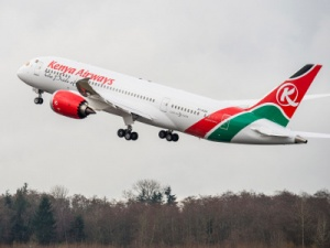 Boeing delivers first 787 Dreamliner to Kenya Airways