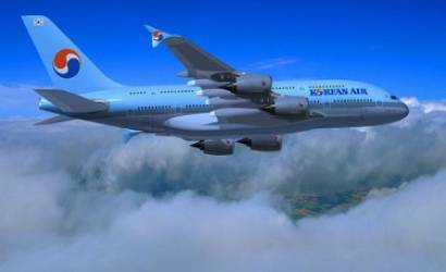 New Korean Air A380 takes to skies