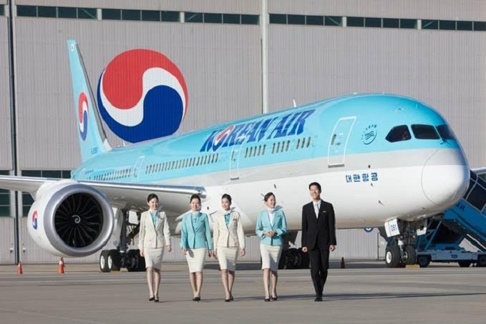 Korean Air reveals first Boeing Dreamliner 787-9