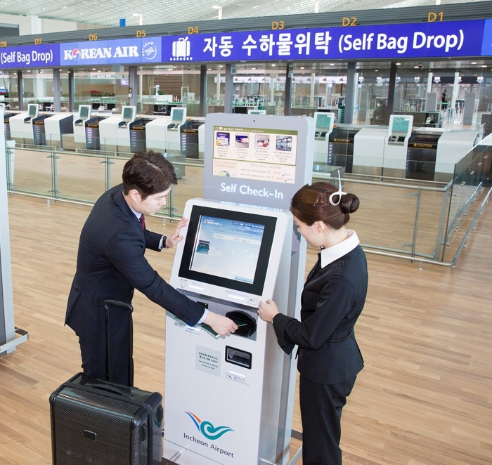 Korean Air to roll-out bag drop counters at domestic airports