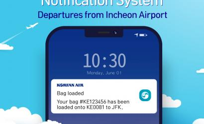Korean Air introduces baggage loading notification system