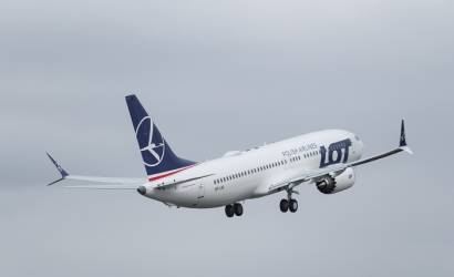 LOT Polish Airlines receives first Boeing 737 MAX