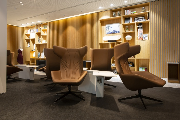 Lexus opens new business class lounge at Brussels Airport