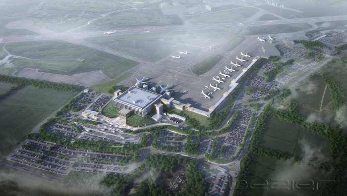 Leeds Bradford Airport unveils plans for new terminal