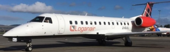 Loganair replaces flybmi on London Stansted-Derry route