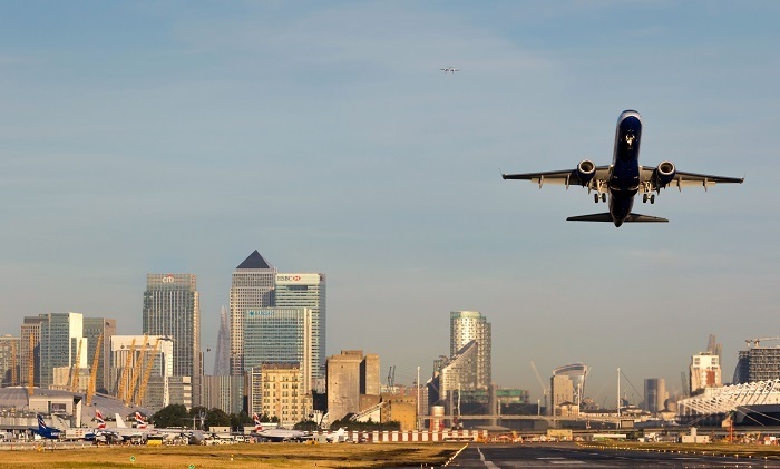 London City Airport closes until end of April