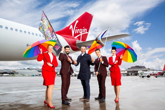 Virgin Atlantic to sponsor Manchester Pride Festival