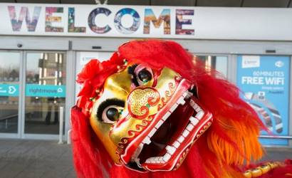 Manchester Airport gets in Chinese New Year spirit