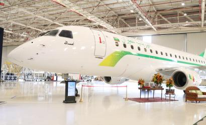 Mauritania Airlines receives first E175 from Embraer