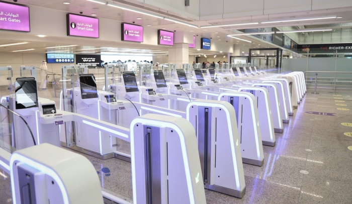 Dubai Airports welcomes new smart gates to Terminal 1