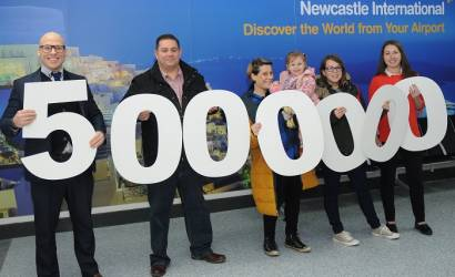 Newcastle International Airport set for busiest year in a decade