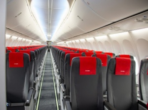 Norwegian rolls-out new slimline Boeing 737 MAX seats