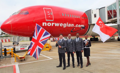 Norwegian launches longest low-cost flight, to Singapore