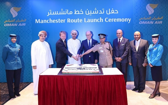 Oman Air celebrates launch of new Manchester connection