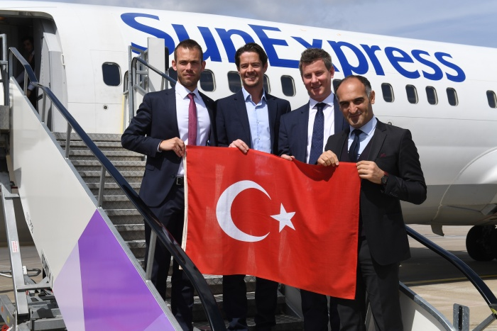 SunExpress to launch four new Turkey connections from Luton Airport