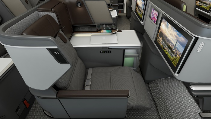 Eva Air welcomes new Royal Laurel Class seats on Boeing Dreamliner