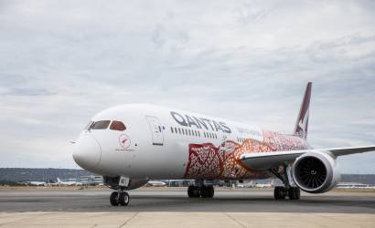Qantas launches new non-stop kangaroo route from Perth to London