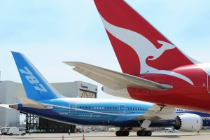 Qantas welcomes Boeing Dreamliner to Sydney