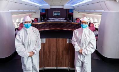 Qatar Airways welcomes first fully Covid-19 vaccinated flight