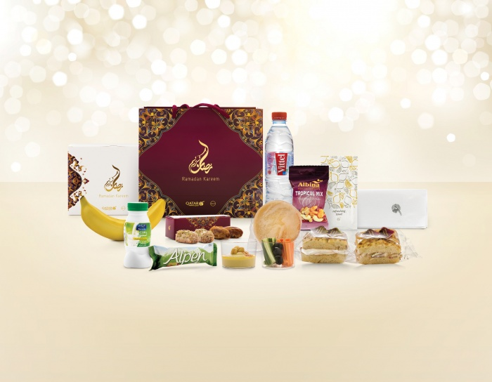 Qatar Airways passengers offered Iftar boxes to break Ramadan fast