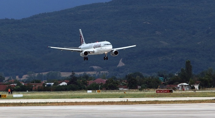 Qatar Airways takes off for Skopje, Macedonia