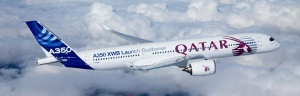 Qatar Airways brings Airbus A350 to Philadelphia