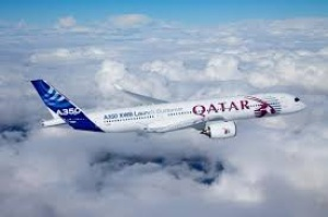 Qatar Airways kicks of Farnborough Air Show 2014 with Airbus A350 display