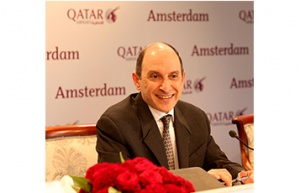 Qatar Airways launches services to Amsterdam