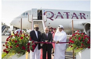 Qatar Airways begins Zanzibar route