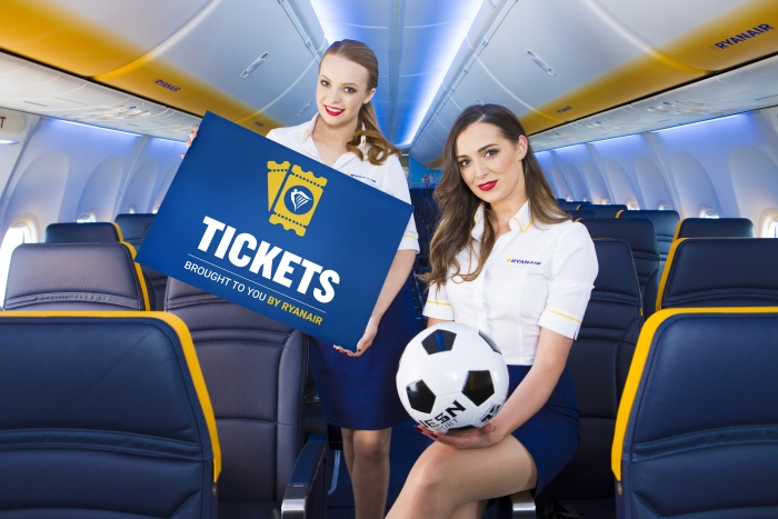 Ryanair expands sports ticketing options in Spain and France