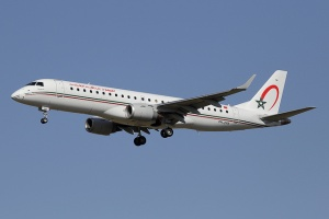 Royal Air Maroc adds Embraer E190 to fleet