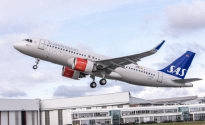 SAS takes delivery of first A320neo