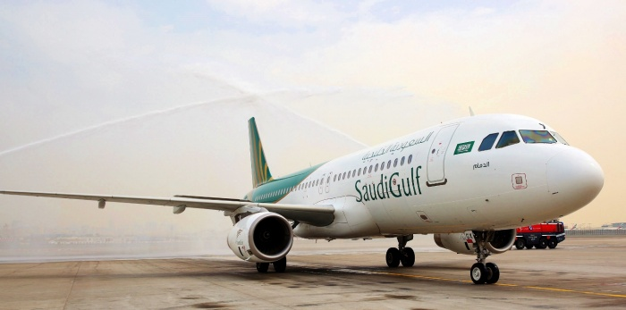 SaudiGulf Airlines lands at Dubai International
