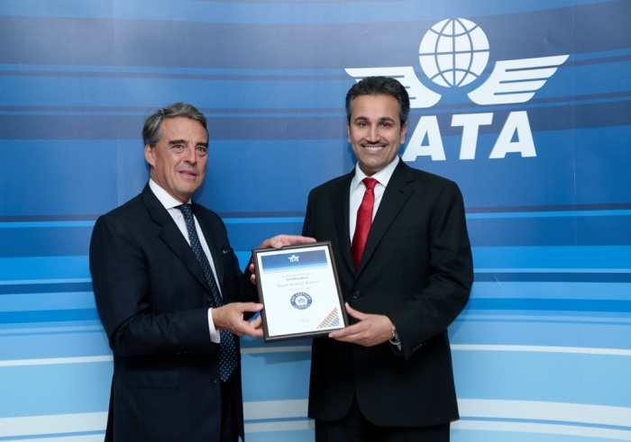 IATA AGM 2017: Saudia attains highest level of certification for digital merchandising