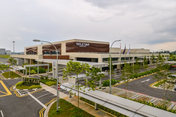 New passenger terminal opens at Seletar Airport in Singapore