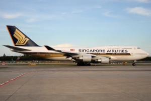 Singapore Airlines waves 747 into retirement