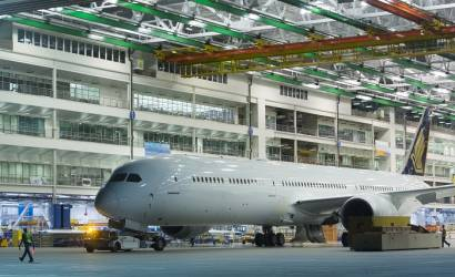Boeing rolls first 787-10 Dreamliner off production line