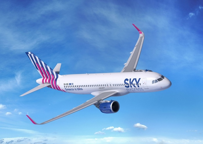 Sky Express places order for four A320neos with Airbus