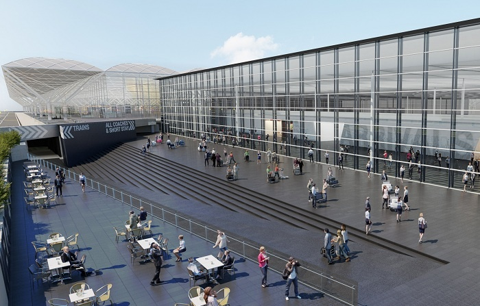London Stansted Airport reveals £130m arrivals overhaul