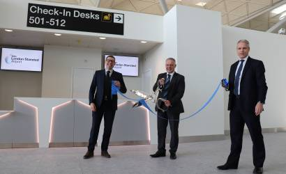 London Stansted Airport welcomes new check-in area as transformation continues