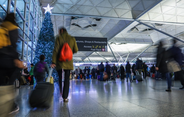Stansted gears up for festive peak period
